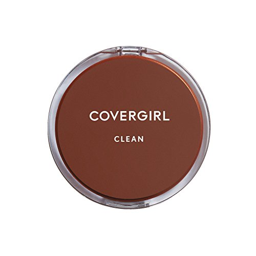 CoverGirl Clean Pressed Powder Compact, Creamy Beige 150, 0.39 oz 11g