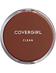 COVERGIRL Clean Pressed Powder Foundation Buff Beige, .39 oz (packaging may vary)