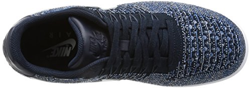Basket Ossidiana Black Nero Bianco Stella Af1 Scarpe da blu Ultra Uomo Low Puro platino Flyknit Nike xYwnv8Pzw