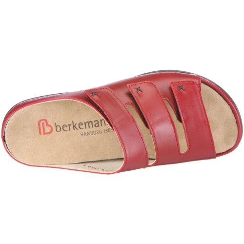 Berkemann Franziska Damen Pantoletten Rot (Weinrot)