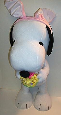Snoopy and Woodstock Easter Bunny Porch Door Greeter 30