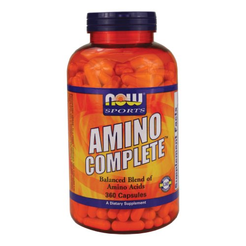 - Now Foods Amino Complete, 360 Capsules (Pack of 2)