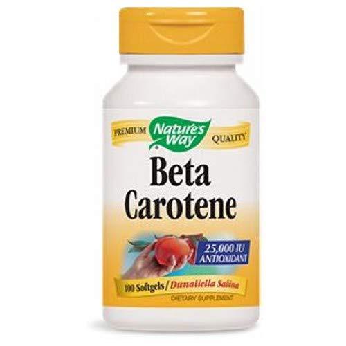 Beta Carotene, 100 Sftgls by Nature's Way (Pack of 3)