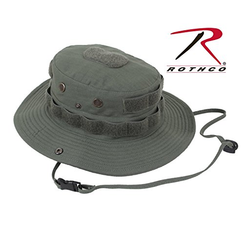 (Rothco Tactical Boonie Hat, Olive Drab, 7 3/4)