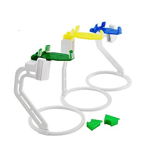 Lolicute Dental X Ray Sensor Positioner Holder Plastic Digital Film 1Suit(3pcs/set)