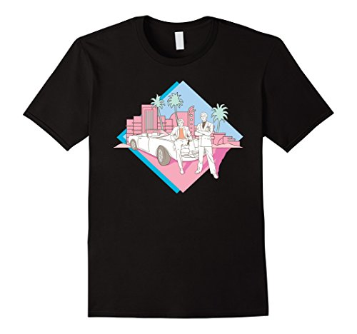 Miami Vice Corckett and Tubbs Posing T-shirt for male or female