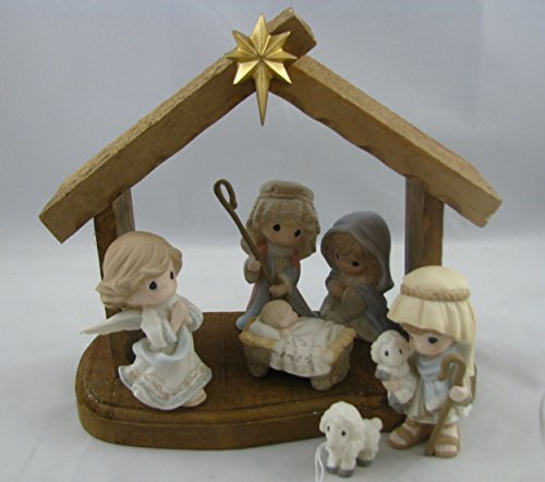 Precious Moments Inc. 159000 7 Piece Nativity Set