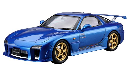 Aoshima 1/24 Tuned Car No.27 Mazdaspeed FD3S RX-7 A-Spec GT-C '99 (Mazda) Model Kit(Japan Import)