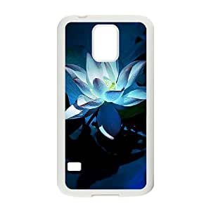 Beautiful flowers Personalized Cover Case with Hard Shell Protection for SamSung Galaxy S5 I9600 Case lxa#876520