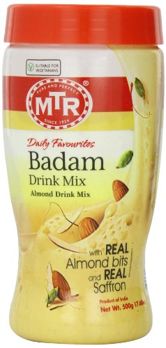 MTR Daily Favourites Badam Drink Mix (Almond Drink Mix), 500 grams