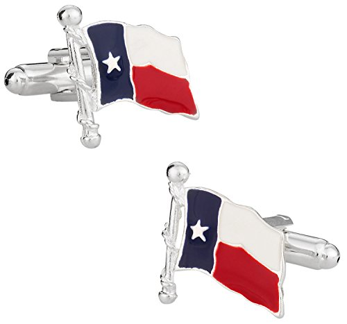 Cuff-Daddy Texas Lone Star State Cufflinks with Presentation Box