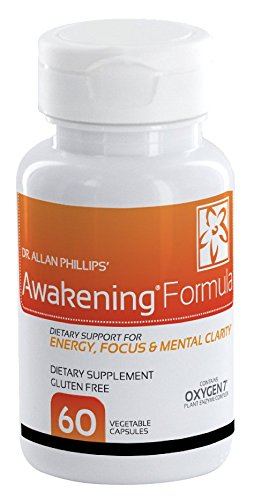 Awakening Formula by Oxygen Nutrition | Healthy Energy Alternative To Increase & Boost Focus, Mood, And Overall Well-Being - 1 x 60 Count Pill Bottle (Sexual Formula Energy)