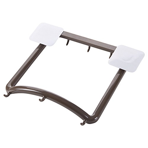 Youlixuess Best Kitchen Portable Washbasin Hanging Holder, Strong suction goods racks commodity shelf Hanger Hooks for Bathroom Hanging Storage Organizer by youlixuess