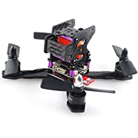 Crazepony X150 FPV Racing Drone Frame(3mm Arm), Carbon Fiber Frame FPV Racing Drone Mini Quadcopter Kit with Unique Camera mounting plate Design for 1806 1306 1408 Brushless motor
