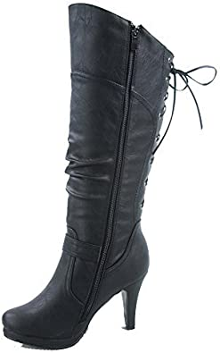 TOP Moda Women's Page-65 High-Top Boot