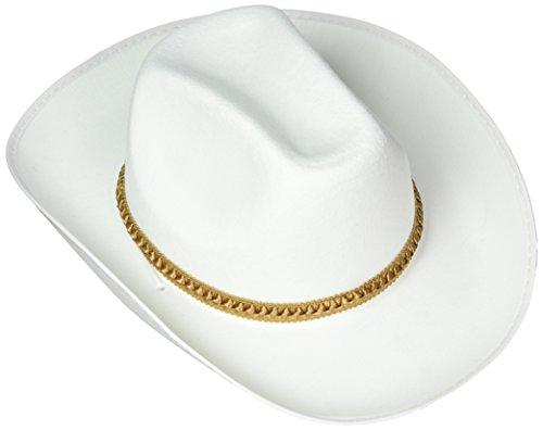White Felt Cowboy Hat