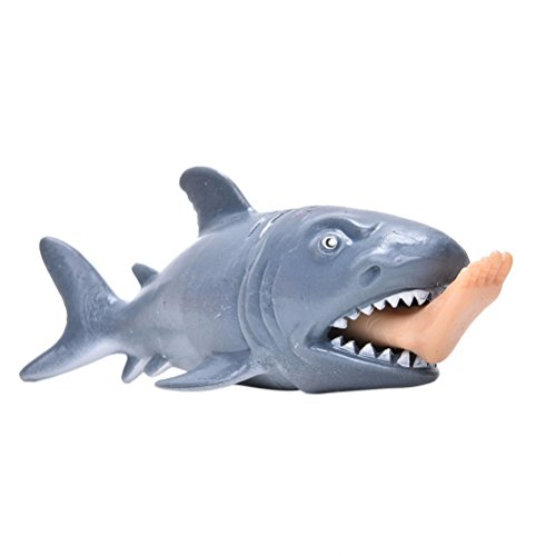 Shark Stress Reliever - 1 Pcs Stress Pressure Reliver Vent Ball Shark Anti-stress Helper by Crqes