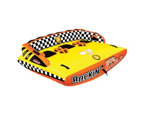 SPORTSSTUFF 53-2263 Rockin' Mable 3 Towable Tube, 3 Rider