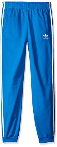 adidas Originals Big Boys' Superstar Track Pants, Blue/White, S