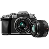 Panasonic G7 Mirrorless Digital Camera w Panasonic 25mm F1.4 Lens Bundle