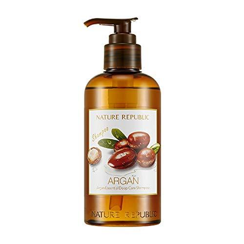 Nature Republic Argan Essential Deep Care Shampoo 300ml_2018 Upgraded