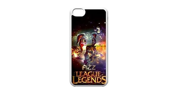 iPhone 5C cajas del teléfono League of Legends nagual diseño resistente funda HYT392499: Amazon.es: Electrónica