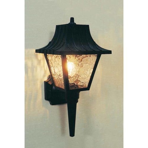 volume-lighting-v9750-1-light-175-height-outdoor-wall-sconce-with-clear-textur-black