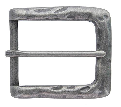 Heel Bar Single Prong Center Bar Belt Buckle 1-1/2