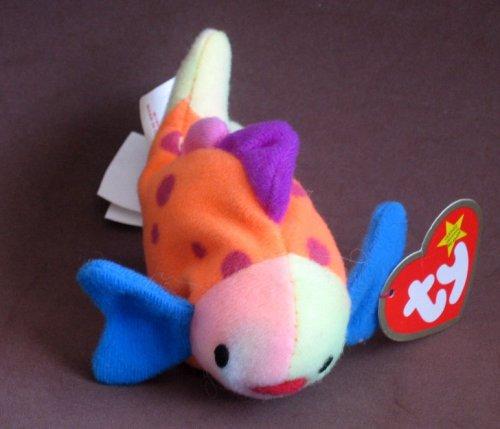 TY McDonald's Teenie Beanie - #1 LIPS the Fish (2000)