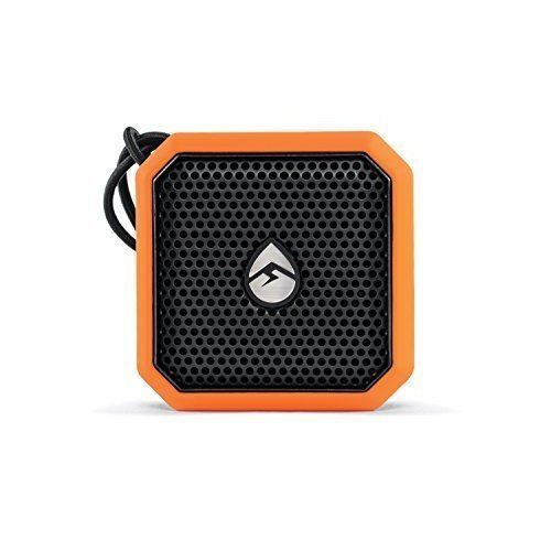 ECOXGEAR EcoPebble Lite Portable Wireless and Bluetooth Speaker Orange GDI-EXPLT500