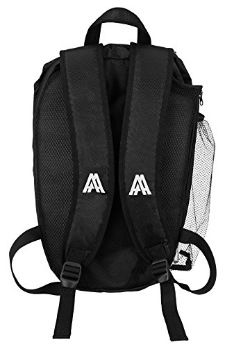 Amazin' Aces Premium Pickleball Backpack | Bag Features Pickleball Holder/Sleeve | Pack Fits Multiple Paddles | Convenient Pockets Phone, Keys, Wallet | Padded Back & Straps Added Comfort by Amazin' Aces (Image #3)