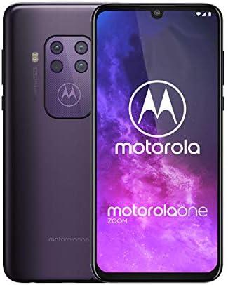 Motorola One Zoom   Unlocked   GSM only   4/128GB   48MP   2019   Purple