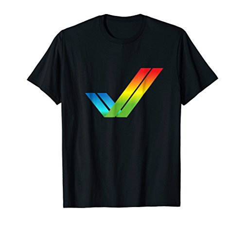 Amiga Tick Logo Retro Computer Shirt for men or women - 5 colours