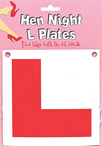 Boxer Gifts HEN NIGHT - L PLATES