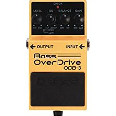 Bass Overdrive Pedal with 2-band EQ