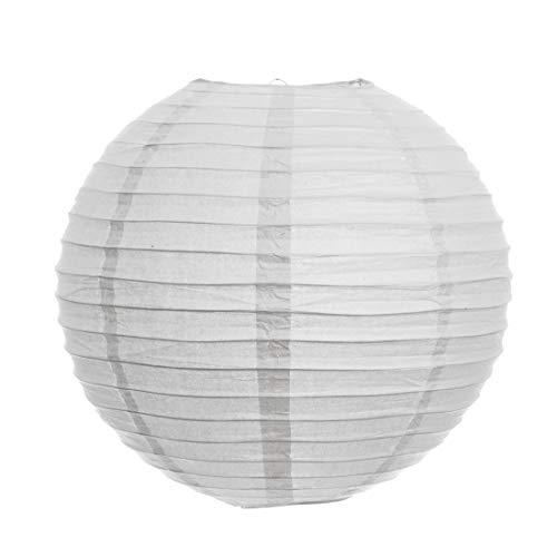 Kala Decorators Paper Lantern  25 x 25 cm, White