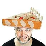 Decorative Plush Pumpkin and Apple Pie Hats for