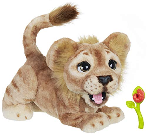Mighty Roar Simba is a new interactive stuffed animal