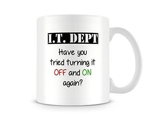 Funny Mug - I.T. Dept -