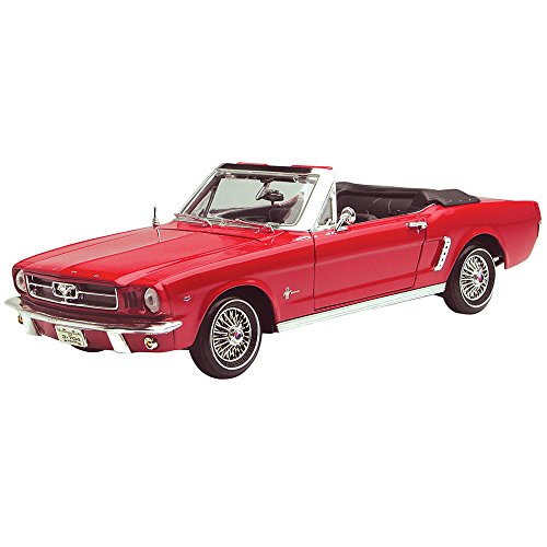 Classic Ford Mustang Parts (Motormax 1:18 Die-Cast 1964 1/2 Ford Mustang Convertible (Colors May Vary))