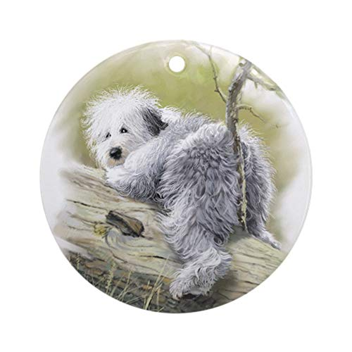 CafePress OES Junior Round Holiday Christmas Ornament