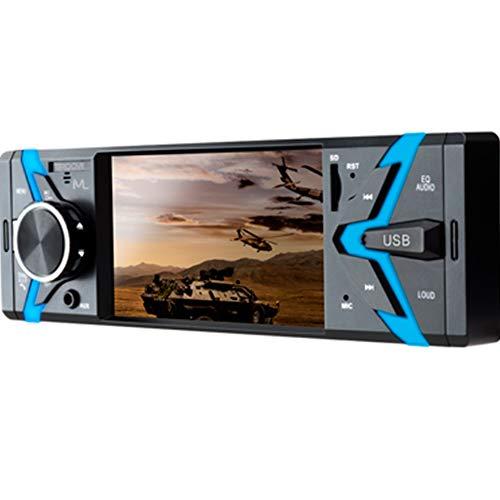 Multilaser Som Automotivo Groove Tela 4 Pol. 1 Din Bluetooth Mp5 4X45Wrms Rádio Fm + Entrada Cartão Sd + Usb + Aux App - P3341