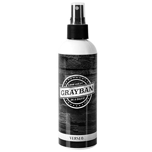 Grayban Hair Color Restorer 8OZ (Best Natural Hair Color For Grey Hair)