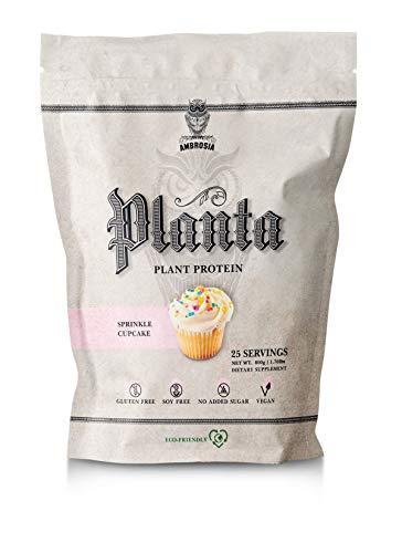 Ambrosia Planta | Organic Plant-Based Protein | 25 Servings (Sprinkle -