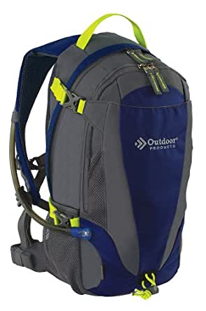 Outdoor Products Mist Hydration Pack with 2-Liter Reservoir, 14.3-Liter Storage, Dress Blues