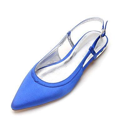 Satén Piezas Primavera Shoes amp;Amp; UK6 De EU39 Plana Maryd'Orsay Vestido Heelivory De Confort US8 Noche CN39 Boda RTRY Dos Mujeres's Rhinestone amp;Amp; Verano Wedding 8qYYSv