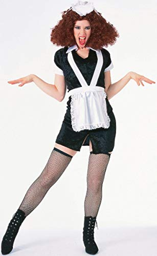 Forum The Rocky Horror Picture Show Magenta Complete Costume, Black/ White, X-Large -