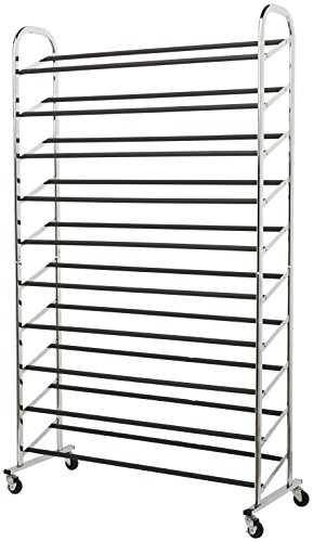 AmazonBasics 50 Pair Shoe Rack