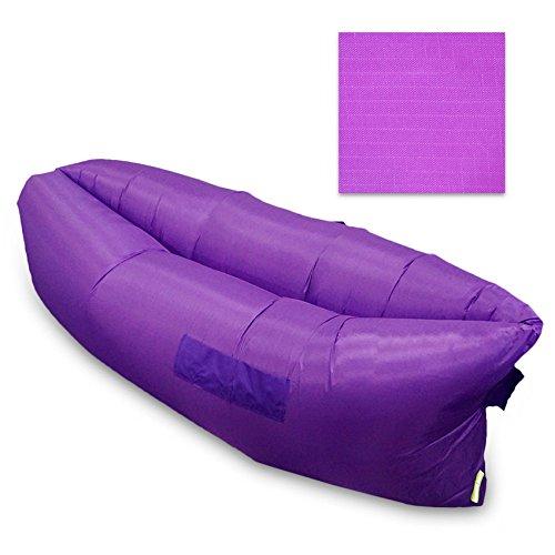 Al aire libre para el sofá-cama hinchable cama Saco de ...