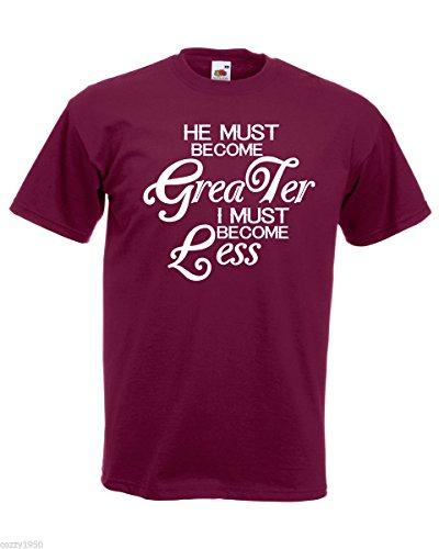 Relatif Gratuit Devenir Fort Cadeau L'inspiration Citation Hommes Moins Avec Motivationnelle T shirt Doit Bordeaux Texte Plus À Il Décalque Chemise wTaY678qx